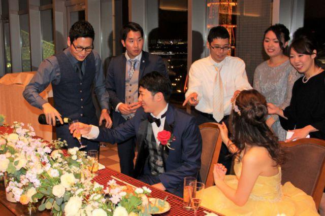 会費制の結婚式.神戸.ノートルダム神戸